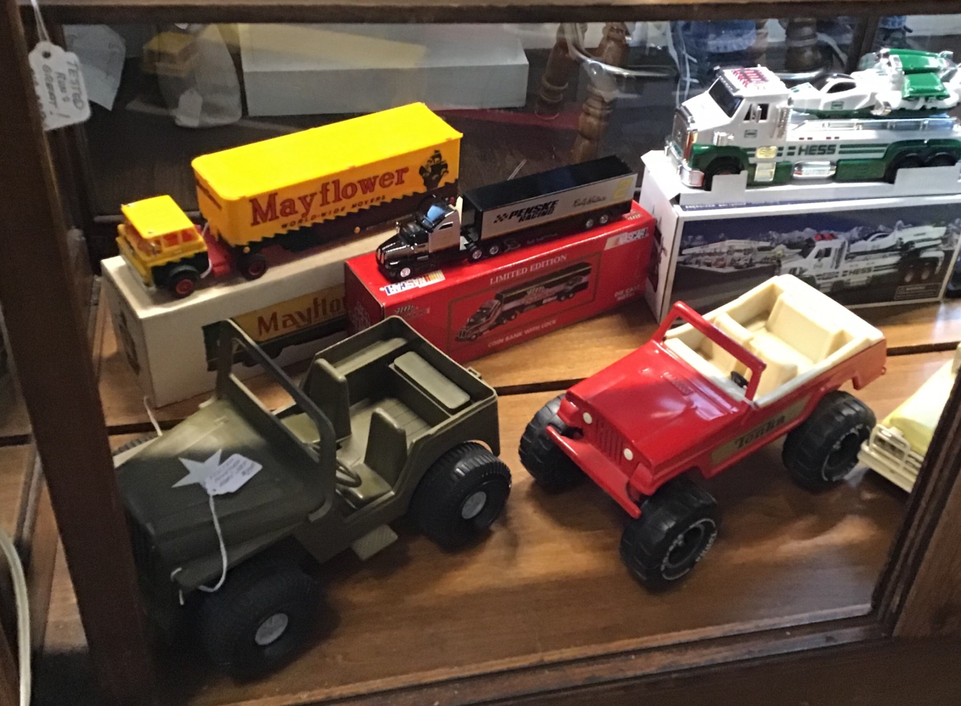 Vintage toys and trains